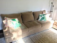 Large tan couch set - less than 1 year old Sparks, 89436