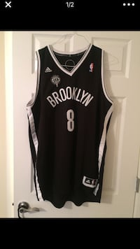 Deron Williams Nets Jersey w/ NYC All Star Game Patch added