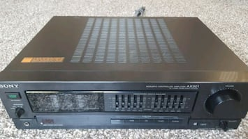 SONY TA-AX301 INTEGRATED STEREO AMPLIFIER *MINT* A
