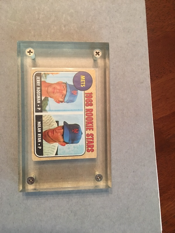 1968 Topps Nolan Ryan Rookie Card