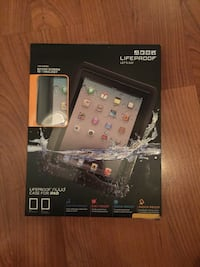 Lifeproof Nuud Case For Apple iPad 2/3/4... Waterproof Dirtproof Snowproof Shockproof  In Excellent almost new condition...  In original box packaging with wipe cloth and headphone jack adapter  San Pablo, 94806