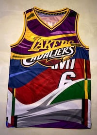 Lebron james sublimated jersey