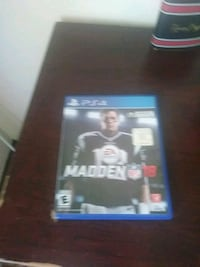 Sony PS4 Madden NFL 18 game case Waco, 76704