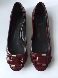 Burberry Patent Quilted Ballet Flats With Buckle  Mississauga, L5B 1P2