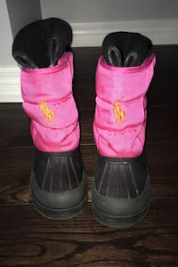 Girls polo winter boots