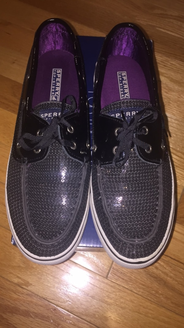 brand new Sperry shoes black size 9
