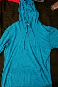 blue zip-up hoodie Long Beach, 90814