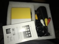 Micro LED projector with remote, power supply, and AV cables.***ASKING 45 OBO*** Bell Gardens, 90201