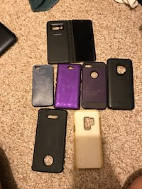 Assorted phone cases  Sherwood Park