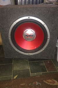 (1) Sony explode subwoofer in box... Weymouth, 02191
