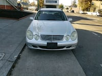 silver Mercedes-Benz W211 sedan Oakland, 94605
