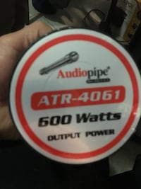 600 watts TWEETERS audio pipe  Boston, 02128