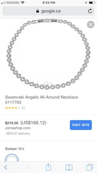 Swarovski Angelic all-around necklace Laval, H7P 3B6