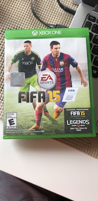 FIFA 15 Xbox One game case