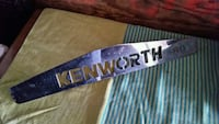 Kenworth truck grill top
