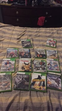Xbox 360 game case lot Calgary, T1Y 4X9