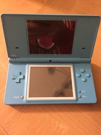 Nintendo DS - with games and case