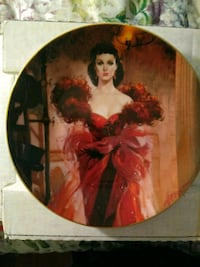 Gone With The Wind Collector Plate Titled Scarlett Phoenix, 85009