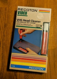 Recoton Sealed VHS Video Head Cleaner Cary, 27511