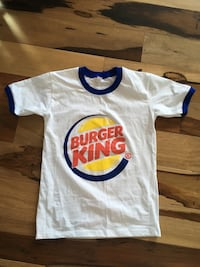 Burger King t shirt Edmonton, T6X 0S1