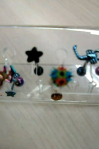 assorted color of color earrings Kansas City