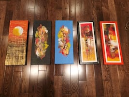 Various Creative Artwork Pieces