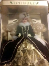 Happy Holidays special edition barbie doll Concord