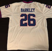 *****BRAND NEW, STITCHED, SAQUAN BARKLEY #26 GIANTS JERSEY***** Mc Lean, 22102