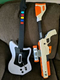 Gaming guitar for PS2