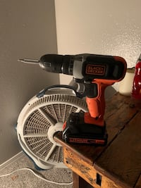 Cordless Drill set with Toolbox