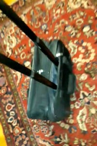Office Bag Carry-on Luggage Black Wheel