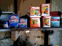 Miscellaneous new oil filters all for five bucks Mechanicsville, 20659