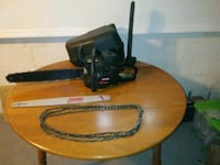 Craftsman chainsaw. Comes with carrying case. 1 blade. 3 chains. Youngstown, 44512