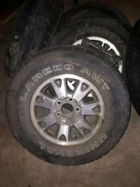 1999 GMC Jimmy rims Barrie, L4N 6Z6