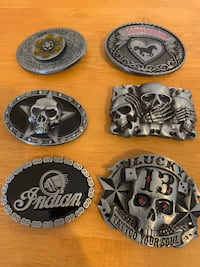 Awesome durable belt buckles Omaha, 68132
