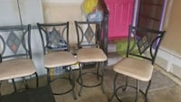 chairs (4)high table New Castle, 19720
