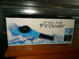 snow ball thrower $10