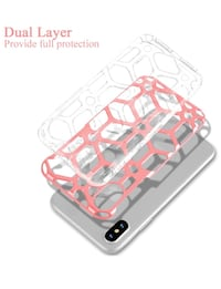 New iPhone X Dual Layer Grid Case