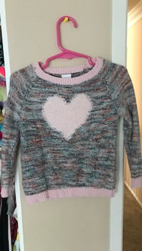 Toddler size 2 sweater, worn once!! Moorpark, 93021