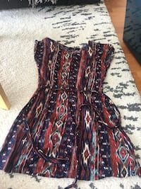 WOMEN'S TRIBAL PRINT DRESS - SIZE SMALL  Toronto, M1H 3K2