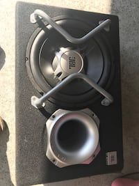black and gray JBL subwoofer North Augusta, 29860