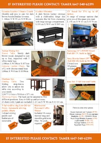 Furniture for SALE!!