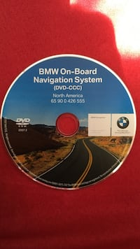 bmw 335 navigation disc 07