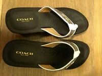 Brown Coach Sandals Rock Hill