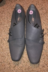 Gray Calvin Klein men's dress shoes sz 12 (size 12) Indian Head, 20640