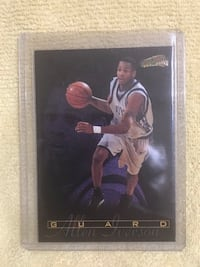 Allen Iverson Georgetown Rookie Basketball Card