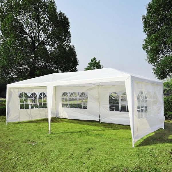 10' x 20' Canopy 4 Walls Gazebo Party Tent Wedding Outdoor Pavilion Brand New