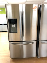 Samsung stainless steel French door refrigerator  Woodbridge, 22191