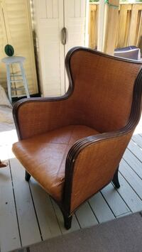 Very Comfortable padded armchair antique.