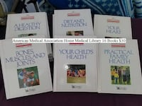 American Medical Association Home Medical Library 16 Books $30 Dresden
